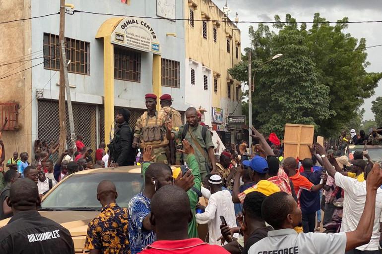 Des militaires à Bamako le 18 août 2020