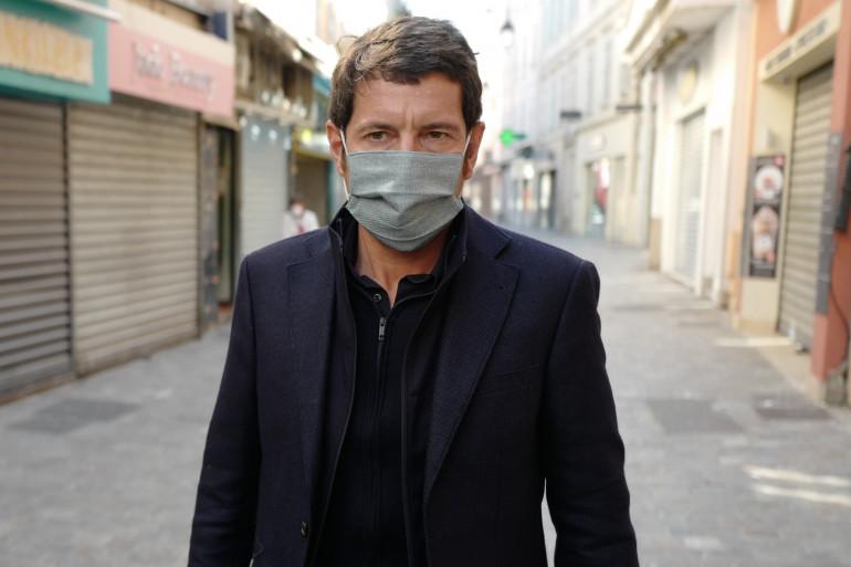 David Lisnard, le maire de Cannes, le 8 avril 2020.