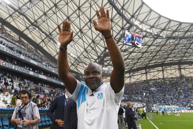 Basile Boli, auteur du but de la victoire en Ligue des champions pour l'Olympique de Marseille en 1993.