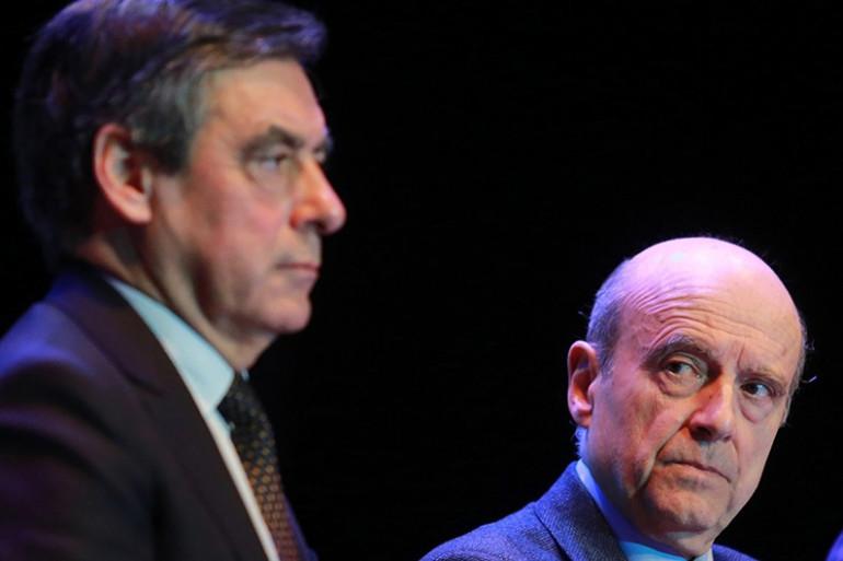 Francois Fillon et Alain Juppé le 23 mars 2015