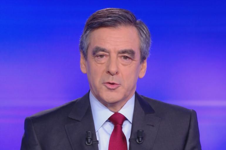 François Fillon lors du débat le 24 novembre 2016