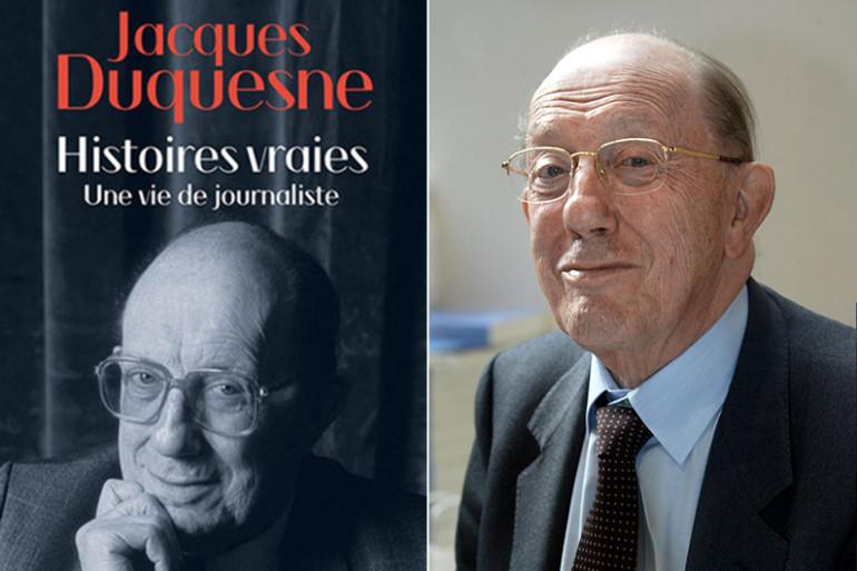 Jacques Duquesne et son dernier ouvrage