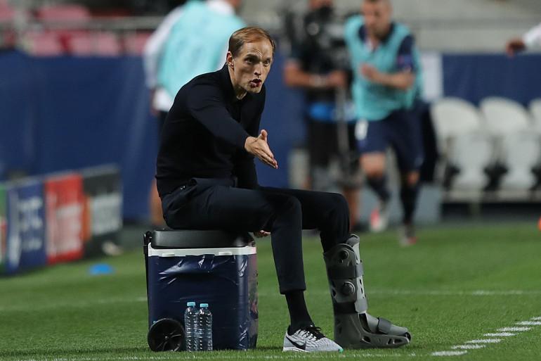 L'entraîneur du PSG Thomas Tuchel, lors de la finale face au Bayern Münich le 23 août 2020