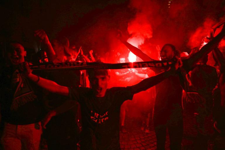 Les supporters Marseillais ont exulté après la défaite du PSG dimanche 23 août