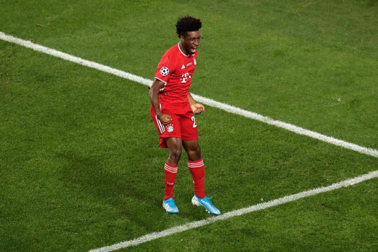 Kingsley Coman, après son but face au PSG