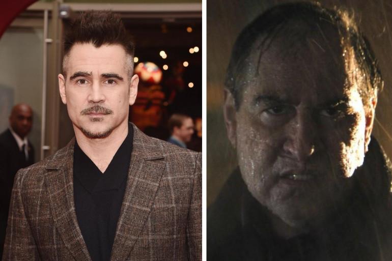 """Colin Farrell change du tout au tout pour incarner  Oswald Cobblepot dans """"The Batman"""""""