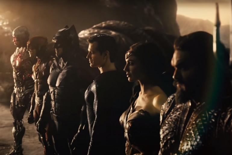 """Cyborg, Flash, Batman, Superman, Wonder Woman et Aquaman dans """"Justice League"""" de Zack Snyder"""