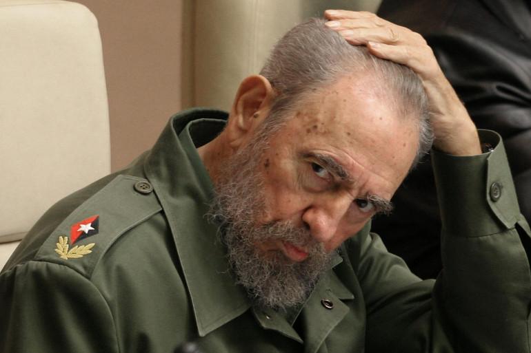 Fidel Castro, le 12 février 2005