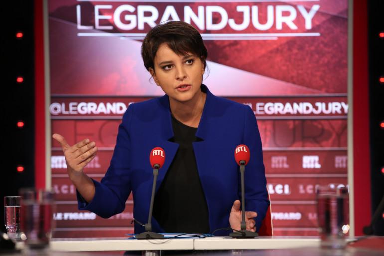 """Najat Vallaud-Belkacem était l'invitée du """"Grand Jury"""" dimanche 27 novembre"""