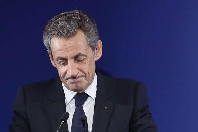 Nicolas Sarkozy le 20 novembre 2016 à Paris.