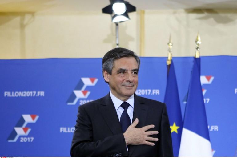 François Fillon le soir du second tour de la primaire de la droite 27 novembre 2016