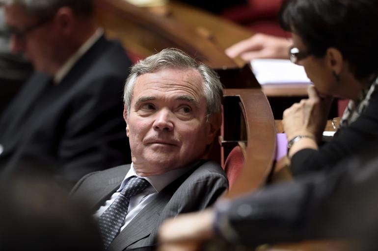 Bernard Accoyer à l'Assemblée nationale le 22 octobre 2014.
