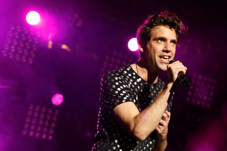 Mika en concert en 2015 à Paris