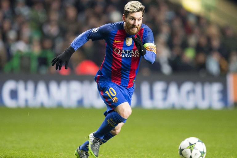 Lionel Messi en novembre 2016 sous les couleurs du FC Barcelone