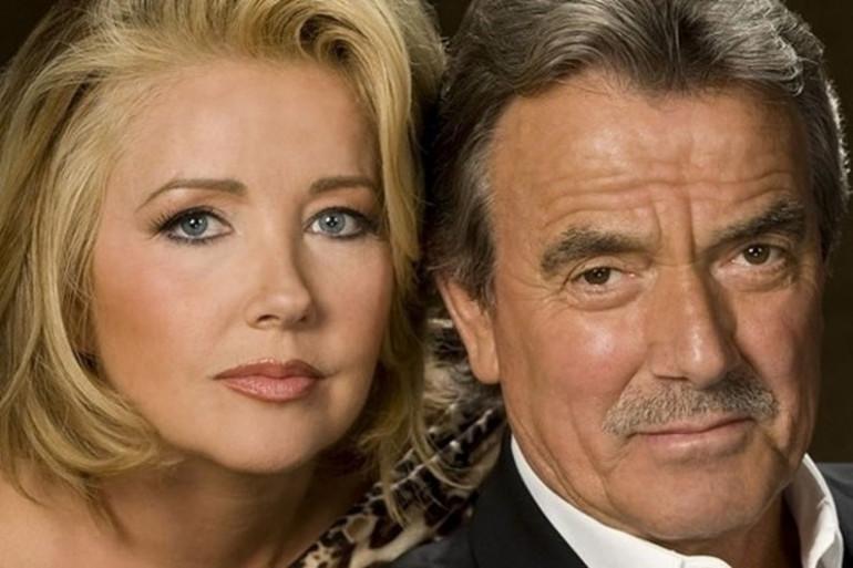 """Nikki et Victor Newman des """"Feux de l'amour"""""""