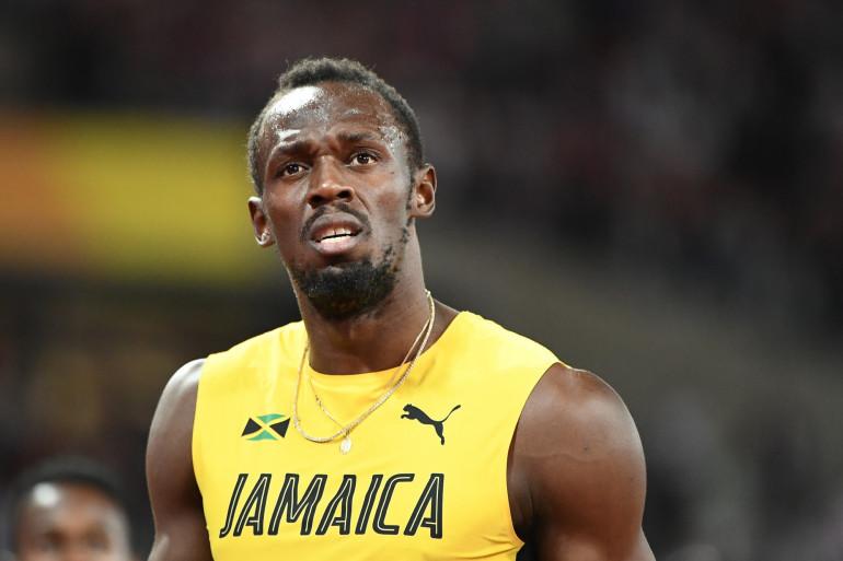 Usain Bolt au London Stadium, le 12 août 2017.