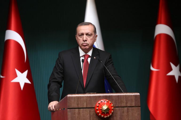Numéro 4 : Le Président turc Recep Tayyip Erdogan