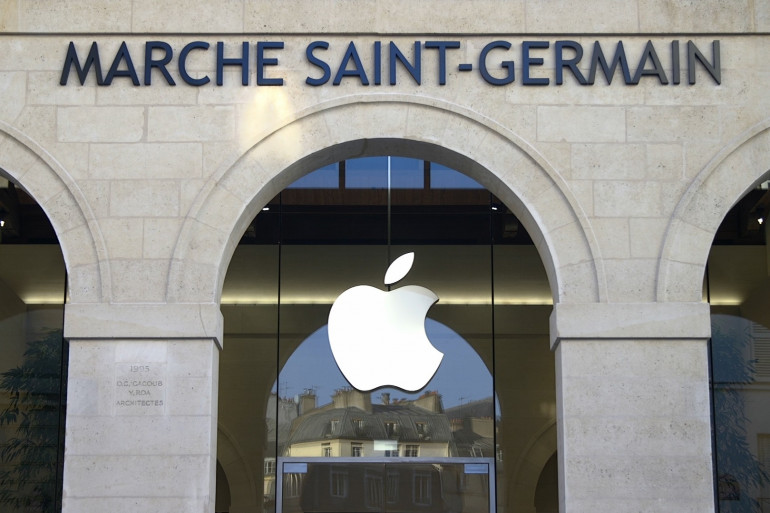 La boutique Apple Marché Saint-Germain