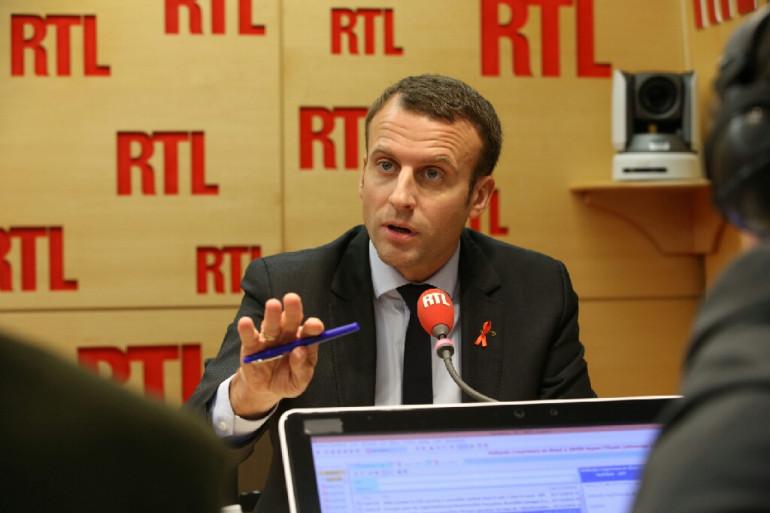 Emmanuel Macron sur RTL, jeudi 1er décembre