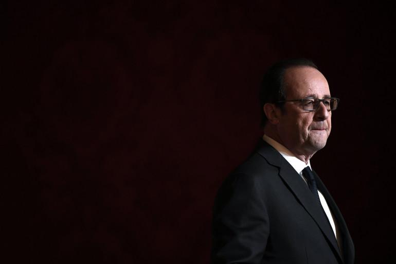 François Hollande, le 1er décembre 2016