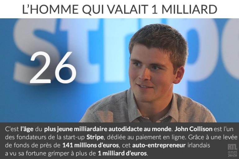 John Collison, le plus jeune milliardaire au monde