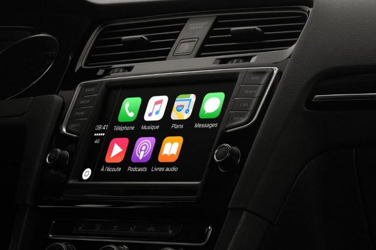 Apple propose déjà un logiciel CarPlay pour certains véhicules