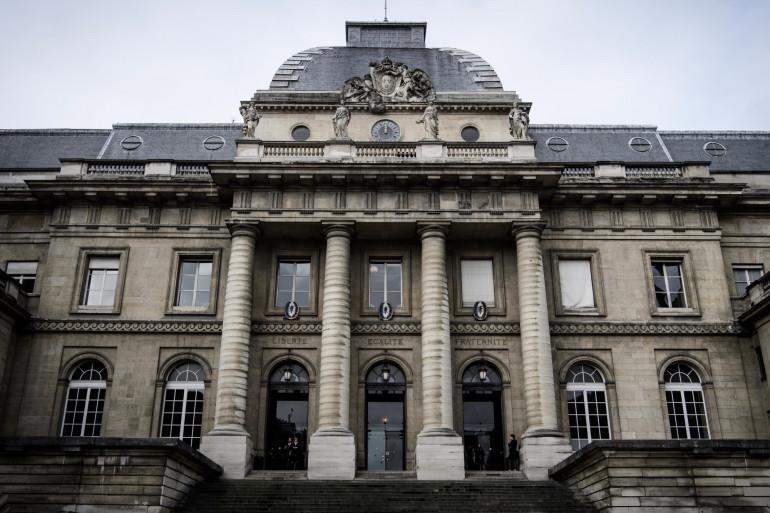 Le palais de Justice de Paris (illustration)