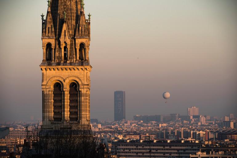 La pollution atteint un pic à Paris le 5 décembre 2016