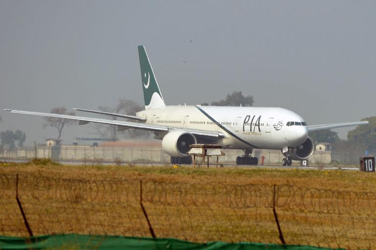 Un avion de la compagnie Pakistan international airlines