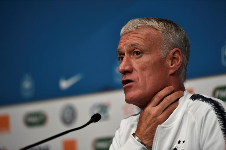 Le sélectionneur des Bleus, Didier Deschamps