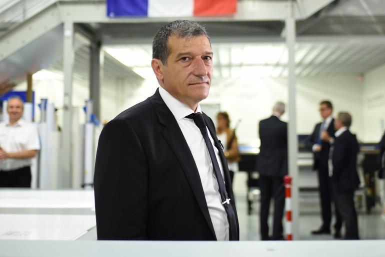 Michel Catalano, directeur d'imprimerie à Dammartin-en-Goële, pris en otage en janvier 2015 par les frères Kouachi