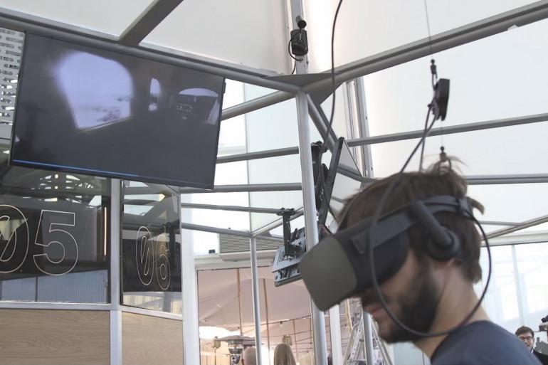 Le MK2 VR est la première salle pérenne dédiée à la réalité virtuelle en France