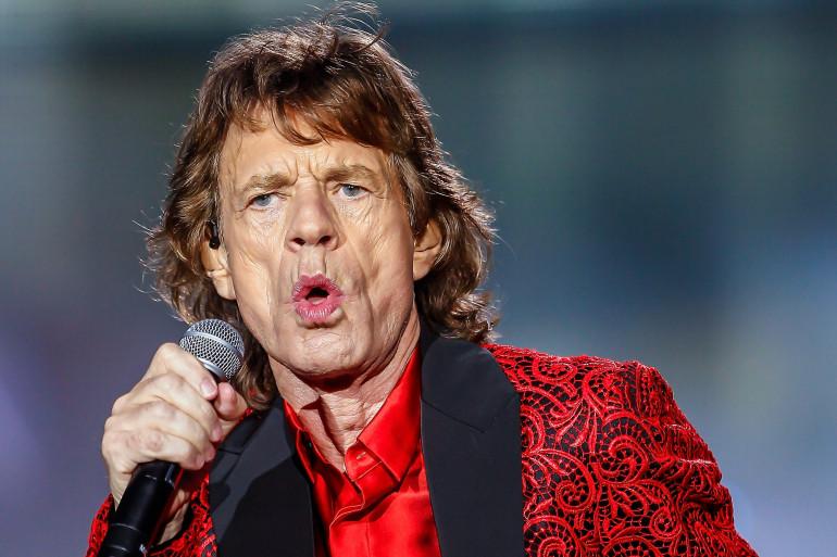 Mick Jagger est papa d'un huitième enfant