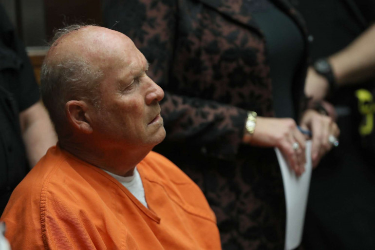 """Joseph DeAngelo, 74 ans, surnommé """"le tueur du Golden State"""", a été arrêté en avril 2018."""