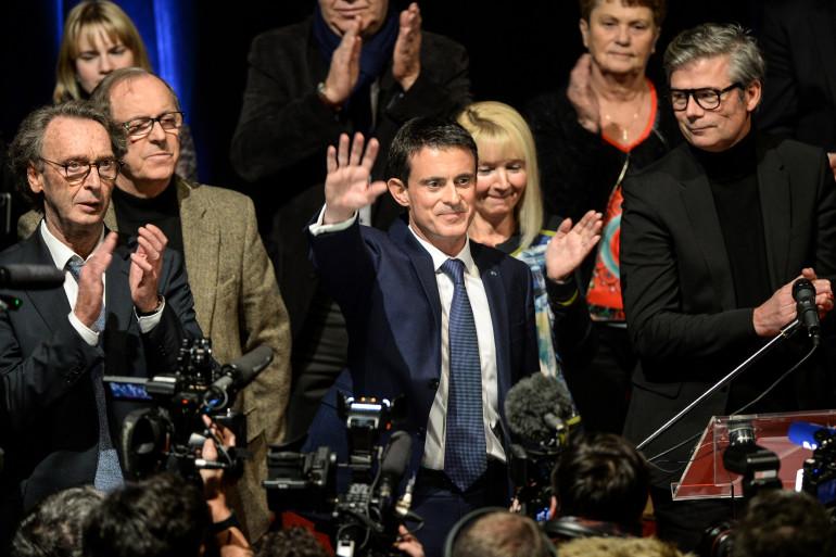 Manuel Valls, le 7 décembre 2016