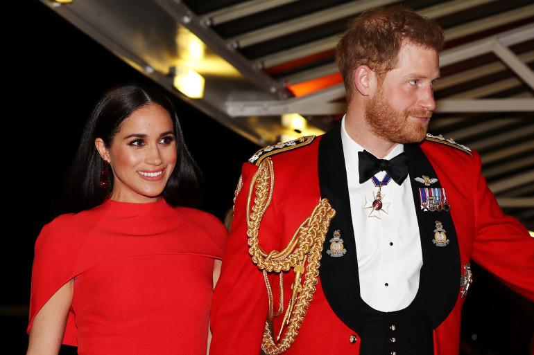 Meghan et Harry le 7 mars 2020 à Londres.