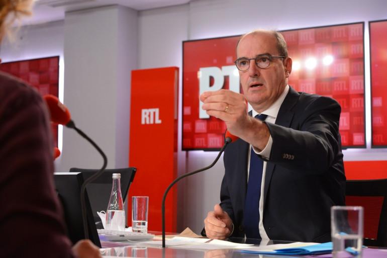 Le Premier ministre Jean Castex le 3 septembre 2020