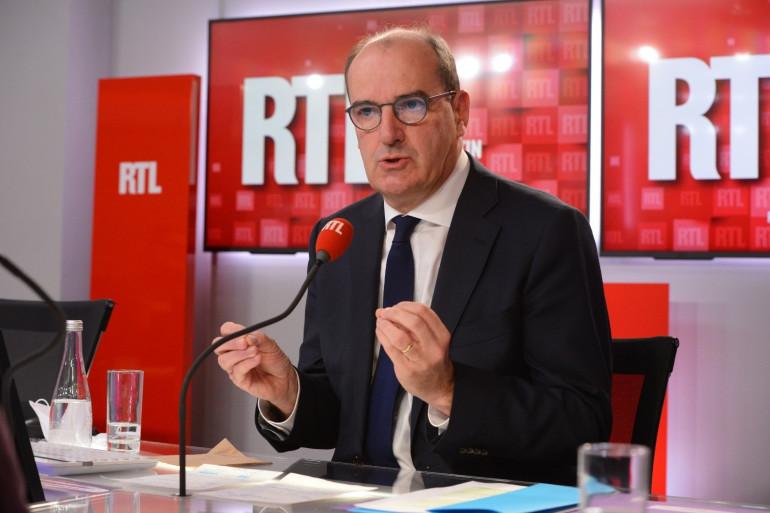 Le Premier ministre Jean Castex le 3 septembre 2020 sur RTL