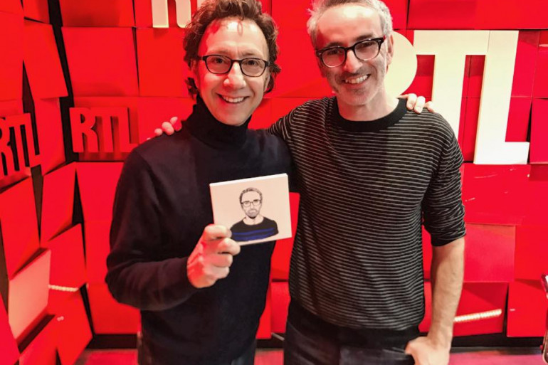 Stéphane Bern et Vincent Delerm