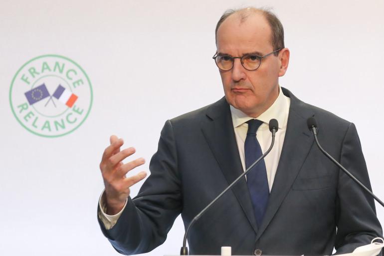 Le Premier ministre Jean Castex présente le plan de relance le 3 septembre 2020 à Paris