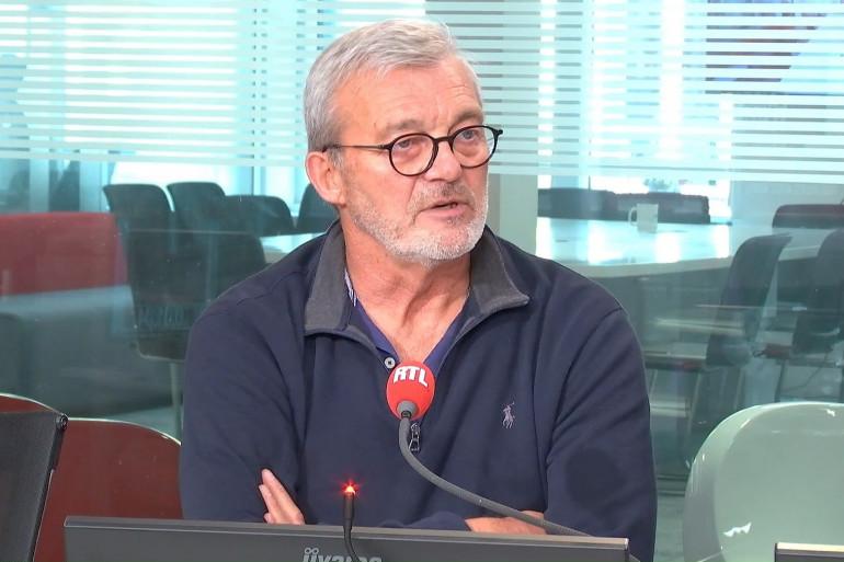 Pierre Lemarchal dans les studios de RTL