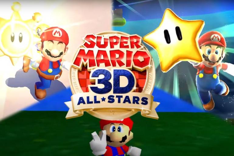 """""""Super Mario 3D All-Stars"""" réunit les trois premiers jeux Mario en 3D"""