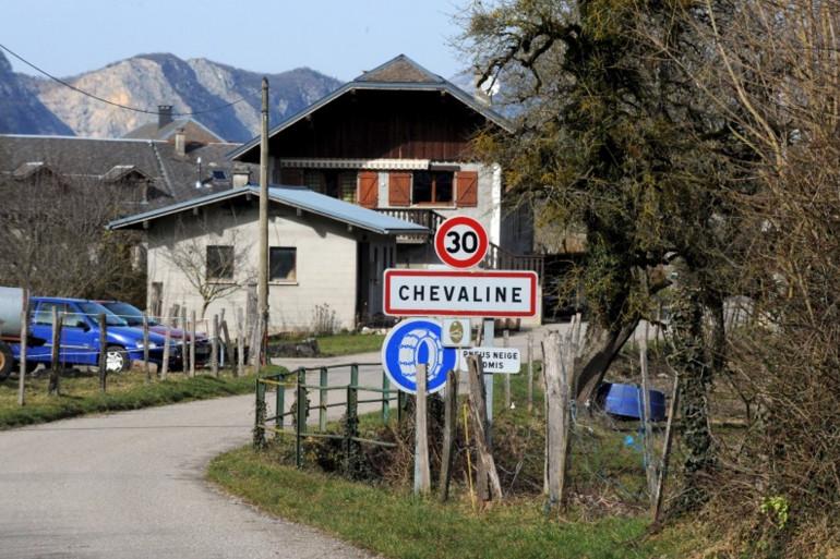 Le village de Chevaline en Haute-Savoie (illustration)