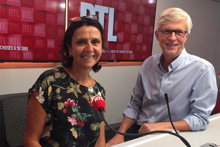 Cécile Pivot et Bernard Lehut