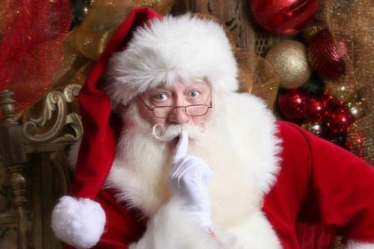 Eric Schmitt-Matzen, ancien militaire, est Père Noël dans le Tennessee