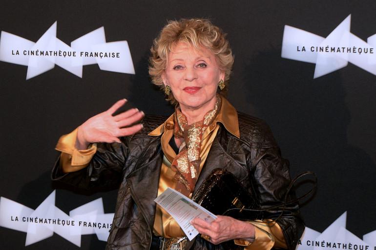 L'actrice Annie Cordy le 3 juin 2013 à la Cinémathèque française