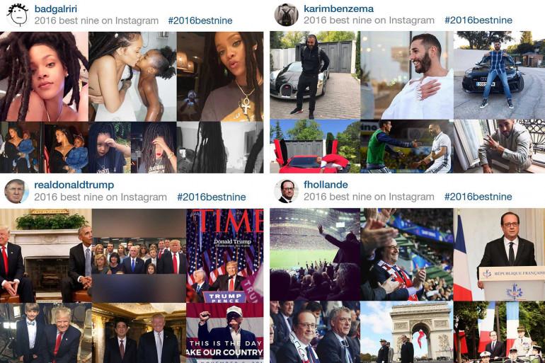 Les micro-collages BestNine signent un retour remarqué (200.000 publications) sur Instagram