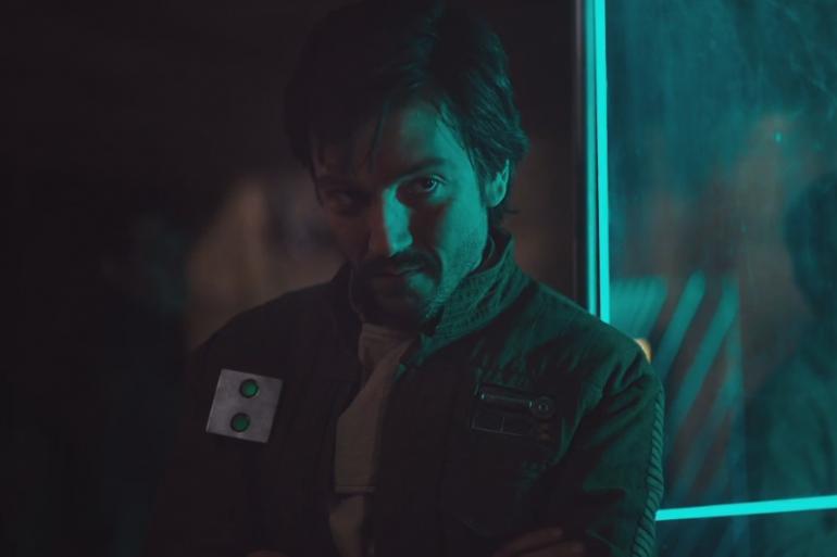 Diego Luna dans le rôle de Cassian Andor