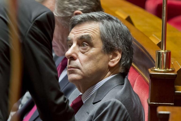 François Fillon le 13 décembre 2016 à l'Assemblée nationale