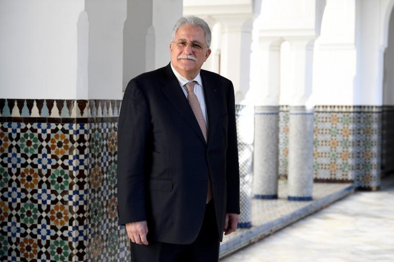 Chems-eddine Hafiz, le recteur de la Grande mosquée de Paris.